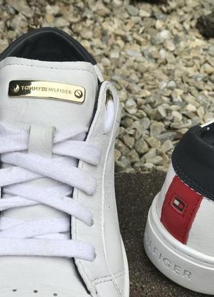 Оригинальные кожаные кроссовки tommy hilfiger 37-38р.3 фото