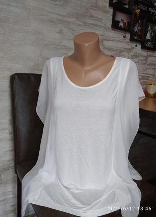Шикарная, нарядная блуза, вискоза+шифон в идеале!!!