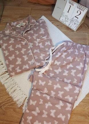 Коттоновая пижамка / одежда для сна /m