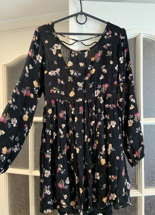 Очень легкое летнее платье