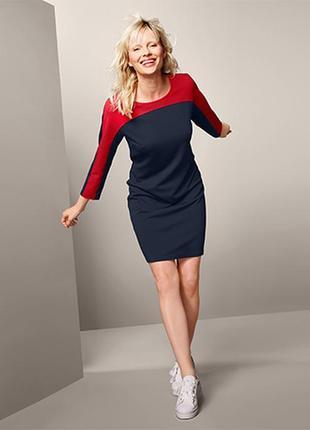 Стильное платье размер 42-46 наш tchibo тсм