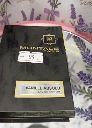 Montale vanille absolu парфумована вода для жінок, 2 ml