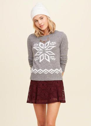 Пуловер hollister размер l