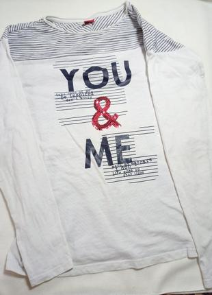 S.oliver реглан. футболка.  лонгслив.