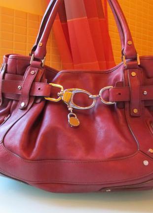 Стильная женская сумка karen millen кожа