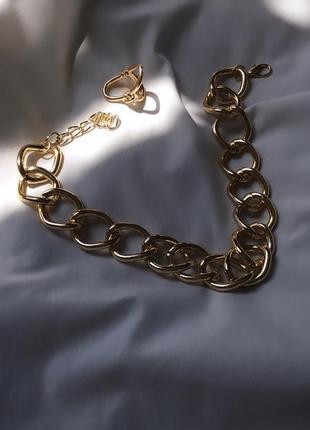 Набор цепь крупная и кольцо