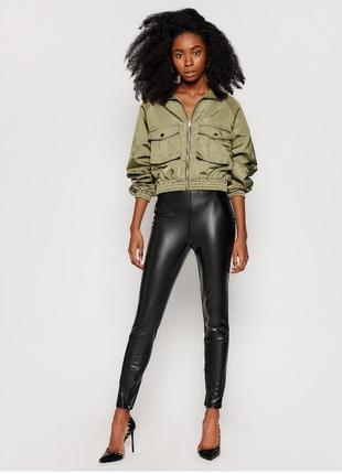 ❤️стильные кожаные лосины леггинсы брюки guess оригинал