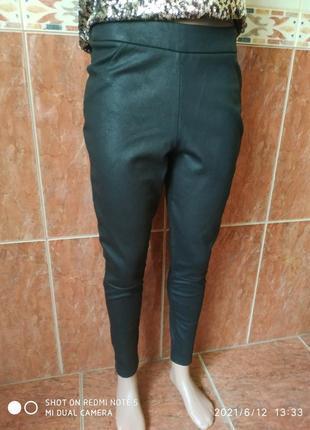 Черные штаны скинни5 фото