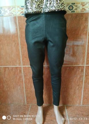 Черные штаны скинни4 фото