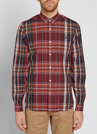Превосходная рубашка fred perry, 💯 оригинал, молниеносная отправка 🚀⚡