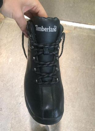 Кожаные сапоги ботинки timberland 39,5-40 р