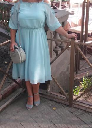 Красивое нежное платье!