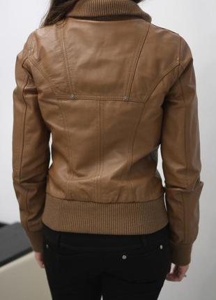 Фирменная 100% кожаная куртка