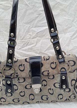 Оригинал сумочка guess monogram