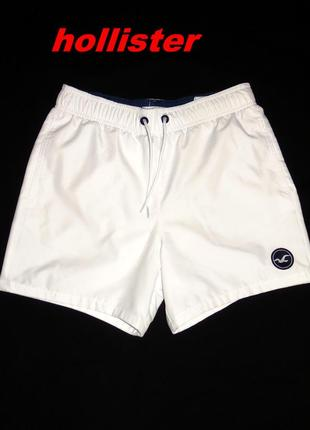 Hollister шикарные белые шорты - xs - s - m