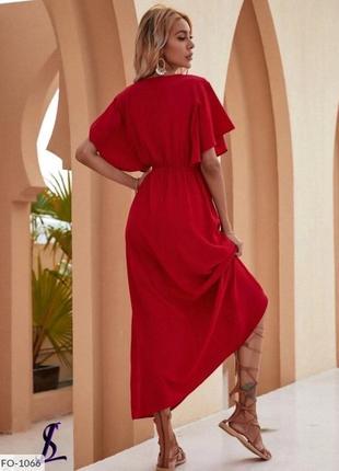 Красивое женское платье.2 цвета. 42-52р2 фото