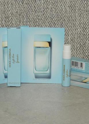 Dolce & gabbana light blue forever пробник для женщин оригинал