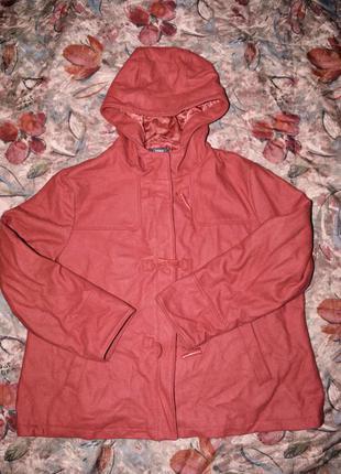 Модная куртка - пальто ( дафлкот ) для пышных форм 5xl