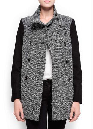 Стильное демисезонное пальто от mango р. s-м