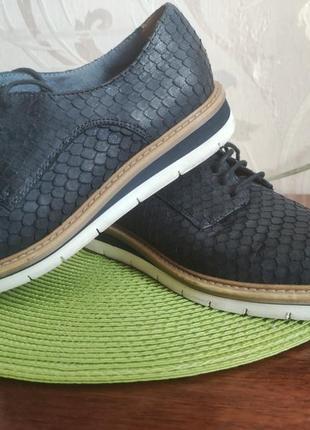 Стильные кожаные туфли!