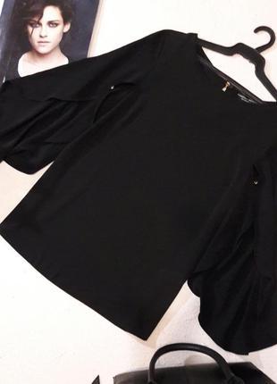 Красивая свободная блуза размер l