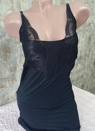 Классная ночная рубашка боди с кружевом