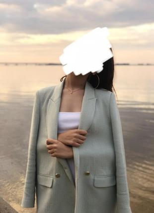 Пиджак блейзер zara