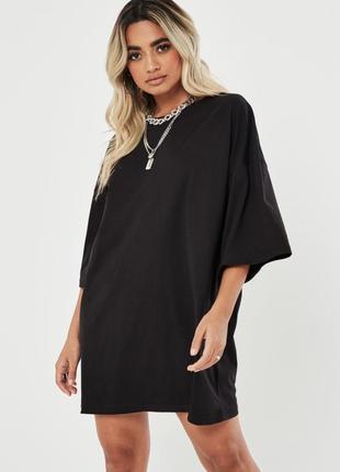 Шикарное черное латье - футболка