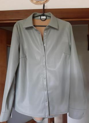 Рубашка мягкая экокожа