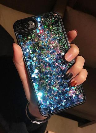 Чехол переливашка стразы iphone 6/6s