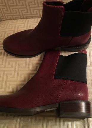 Clarks marquete wish кожаные ботинки размер 35.5, 36, 38, 38.5, 39
