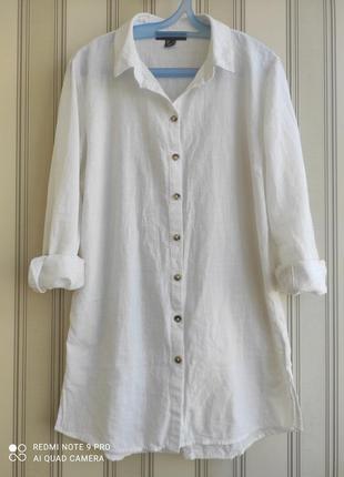 Натуральная брендовая рубашка