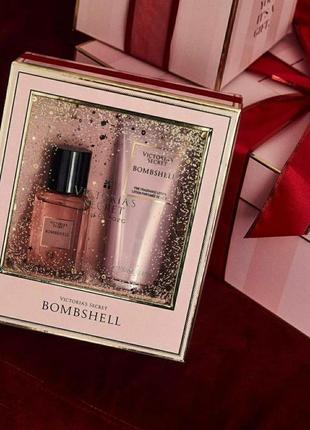 Парфюмированный набор bombshell victoria's secret в подарочной упаковке