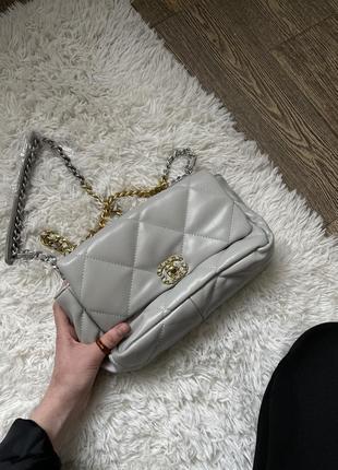 Сумка, женская сумочка через плечо, клатч chanel шанель
