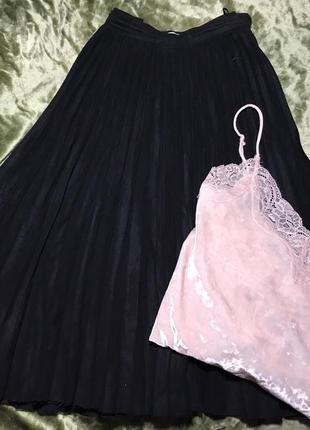 Плиссированнная юбка