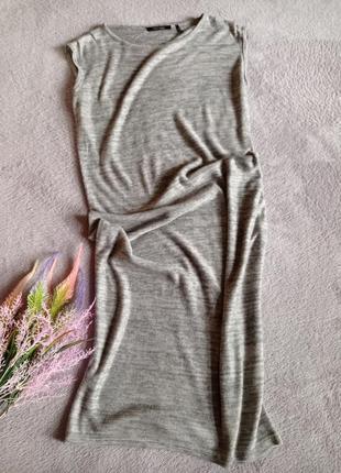 Платье трикотаж меланж