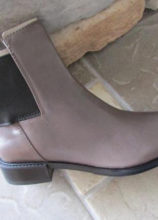 Clarks marquette wish кожаные ботинки размер 41 англия