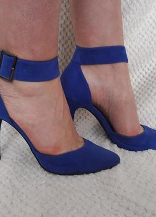 Туфлі сині gorgeous