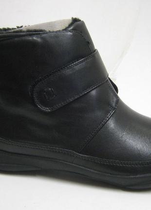 Clarks k more aetna кожаные ботинки утепленные 38.5, 39, 39.5