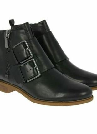 Clarks taylor storm кожаные ботинки размерт 37.5 оригинал англия
