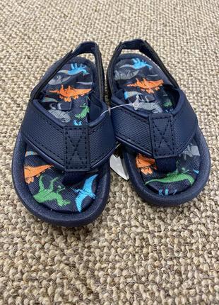 Сланцы тапочки шлёпки динозавры сандали