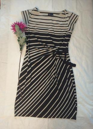 👗в полоску трикотажное платье 👗 just taylor