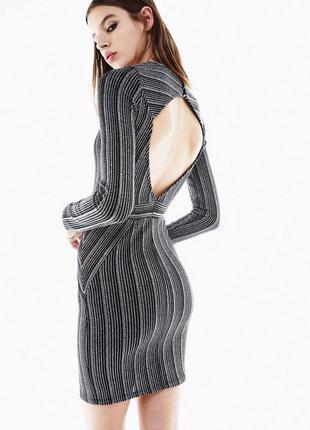 Стильное платье с вырезом на спине от bershka