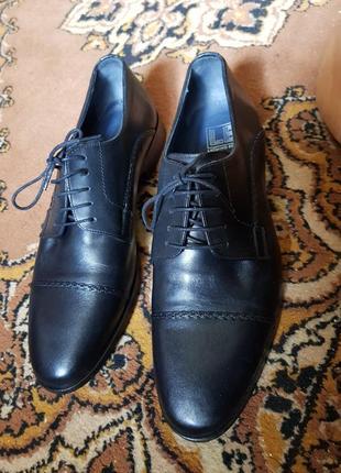 Мужские классические туфли luciano bellini италия3 фото