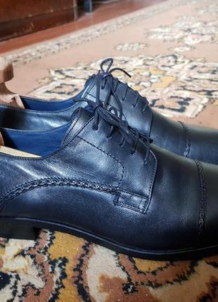 Мужские классические туфли luciano bellini италия