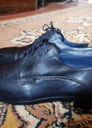Мужские классические туфли luciano bellini италия2 фото