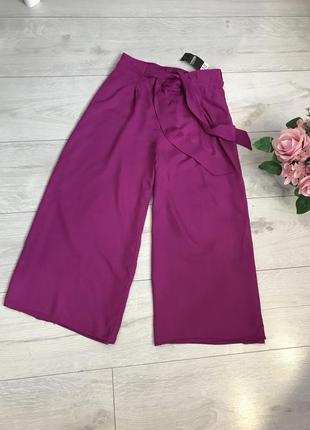 Новые вискозные брюки кюлоты george 💞