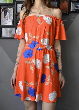 Очень красивое платье с открытыми плечами asos
