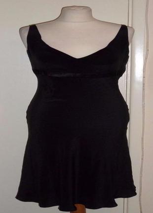 Черное вечернее платье, шелк, warehouse, 50 р