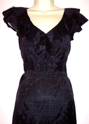 Черное летнее платье next, 48 - 50 р